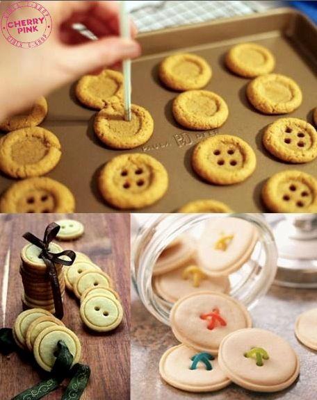 galletas en boton