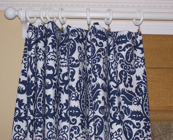 CUSTOM CURTAINS Premier Fabric Two Custom by Cathyscustompillows, $129.00