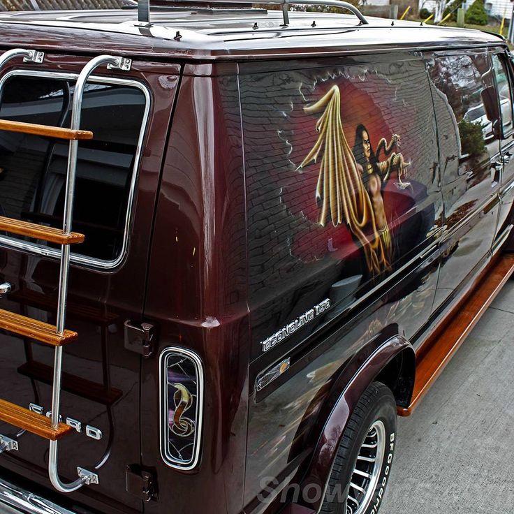 """Venom"" custom Ford van..vk"