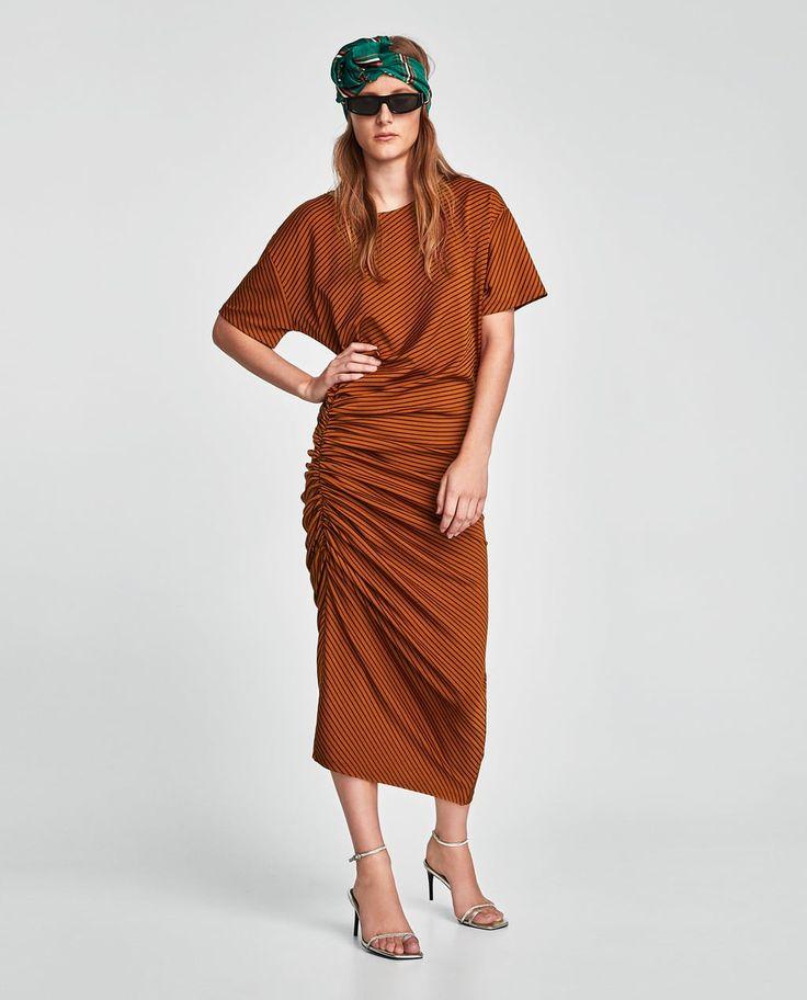 STRIPED DRESS-View all-DRESSES-WOMAN   ZARA United Kingdom