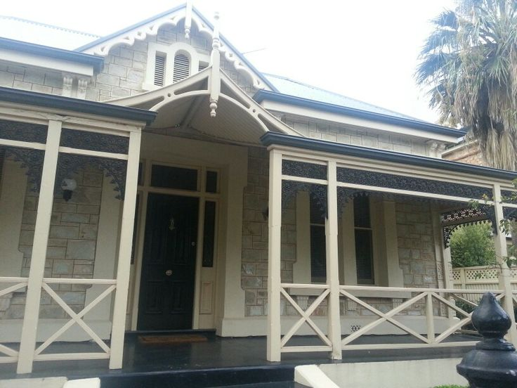 Best Concrete Verandah And Steps Black Front Door With 640 x 480