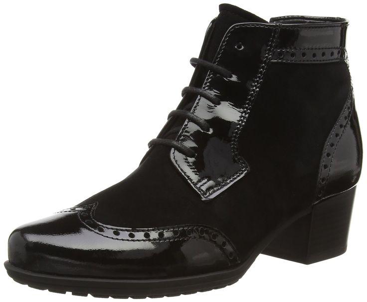 Gabor Hamlyn, Women's Ankle Boots, Black (Black Suede), 6.5 UK (40 EU)
