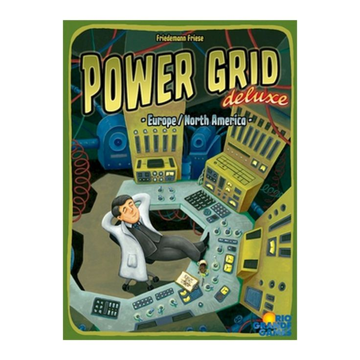 Power Grid Board Game, Board Games