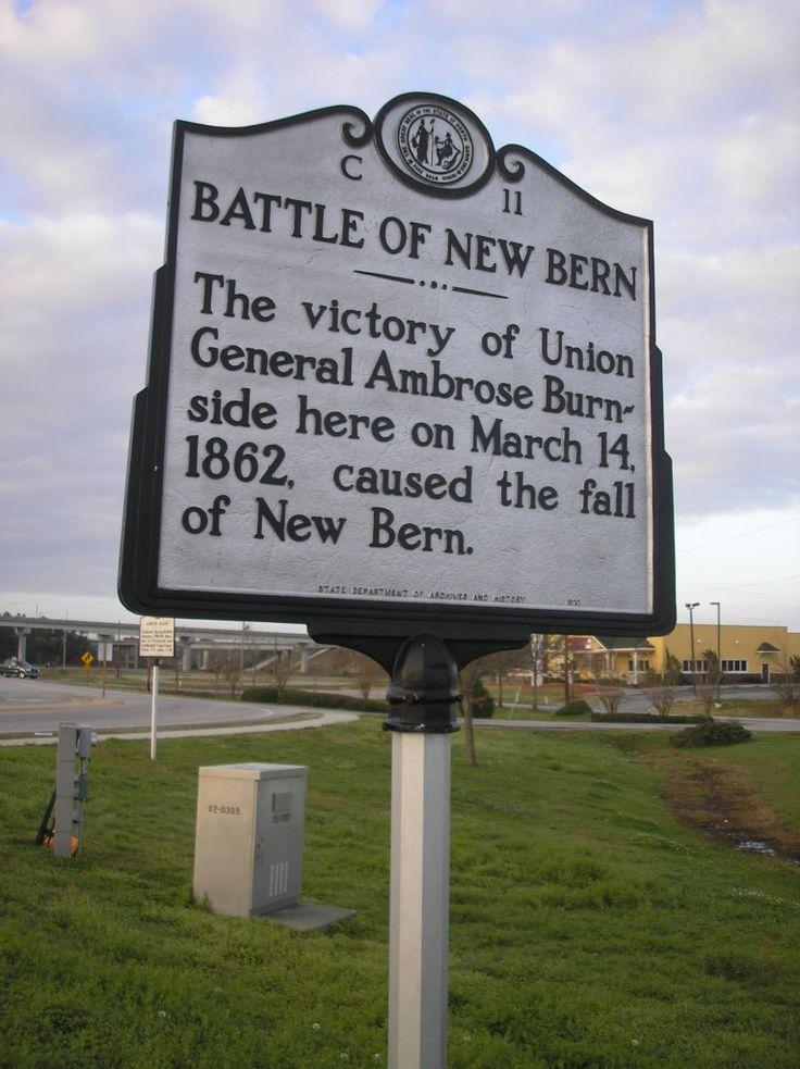 New Bern, NC | BATTLE OF NEW BERN . The victory of Union General Ambrose Burnside ...