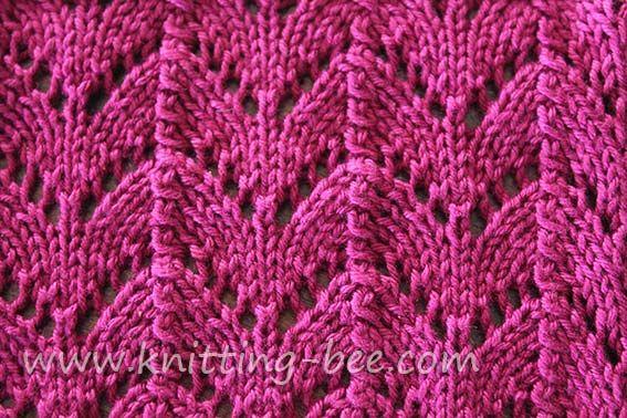 Basic Lace Knitting Stitches : #Knitting_Stitch -