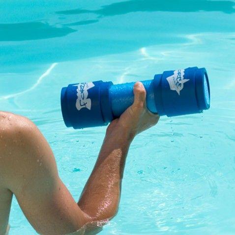 Haltère aquagym Force Pool x2 #idée #cadeau #gift #papa #homme #FêteDesPères #BBQ #sport #sportif #natation #aquagym #musculation #piscine #desjoyaux #laboutiquedesjoyaux