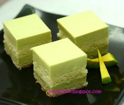 Avocado Chilled Cheesecake