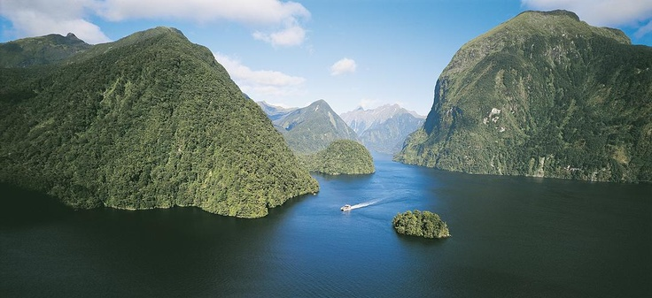 coach from Queenstown, cruise beautiful Lake Manapouri, then spend 3 hours cruising spectactular Doubtful Sound