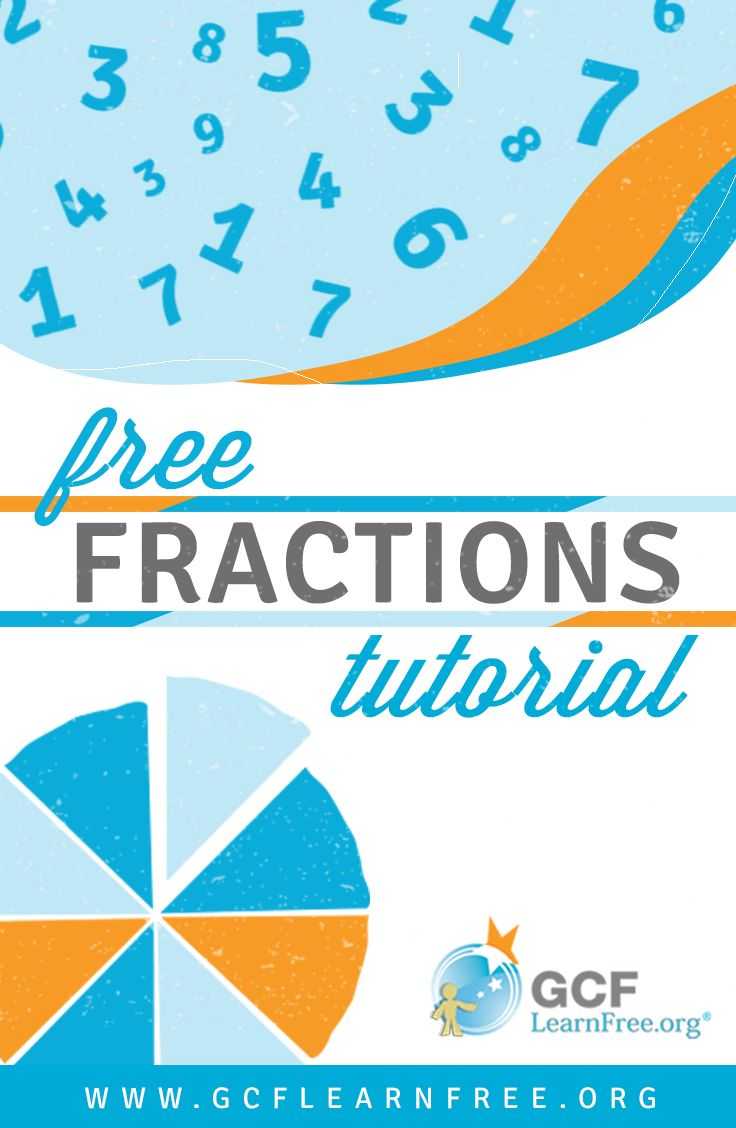 Do #fractions give you trouble? With the simple and easy techniques of this free basic #math tutorial from GCFLearnFree.org, you will gain a basic understanding of fractions, in addition to learning how to work with common denominators, reducing and improper fractions.