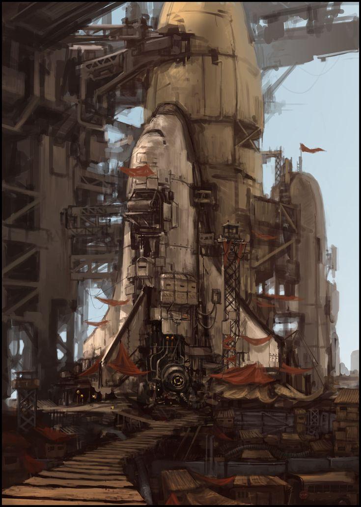 castle NASA by ProgV.deviantart.com on @deviantART