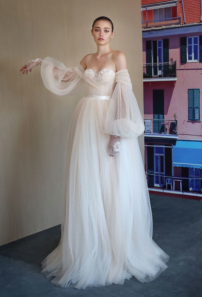 775a2ff2dc The Biggest Wedding Dress Trends of 2019