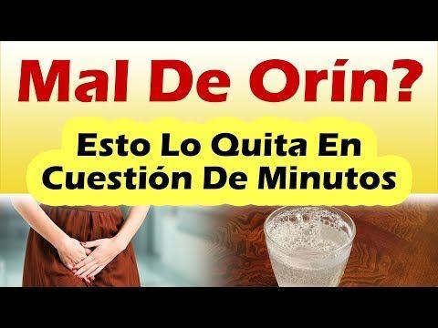 INFECCION URINARIA REMEDIOS CASEROS Como Quitar El Mal De Orin Rapido y Facil - YouTube