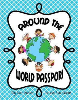 Your students will love learning about different countries around the world using the passport and activities in this pack!