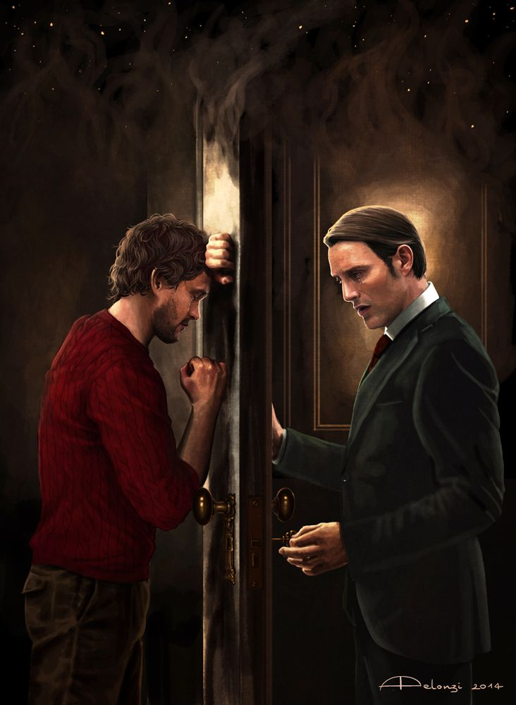 Beautiful fanArt of Hannibal: http://alessiapelonzi.tumblr.com/post/91803558835