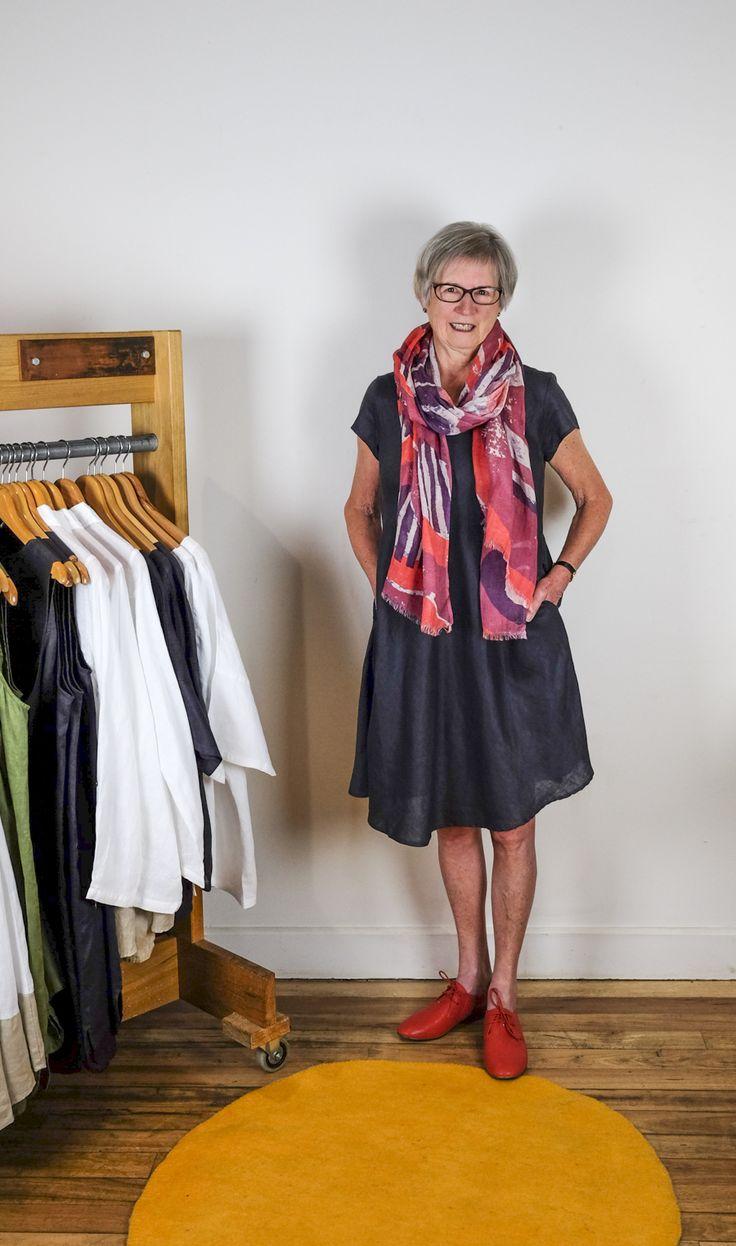 Linen dress - Naturals by O&J at Dalcheri for the S/S16 Season.  www.dalcheri.com.au