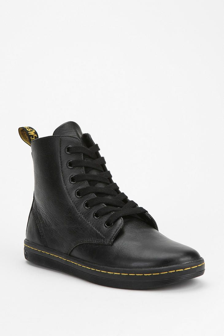 I think I found my ideal high tops *___*  Dr. Martens Leyton Leather Sneaker  #UrbanOutfitters