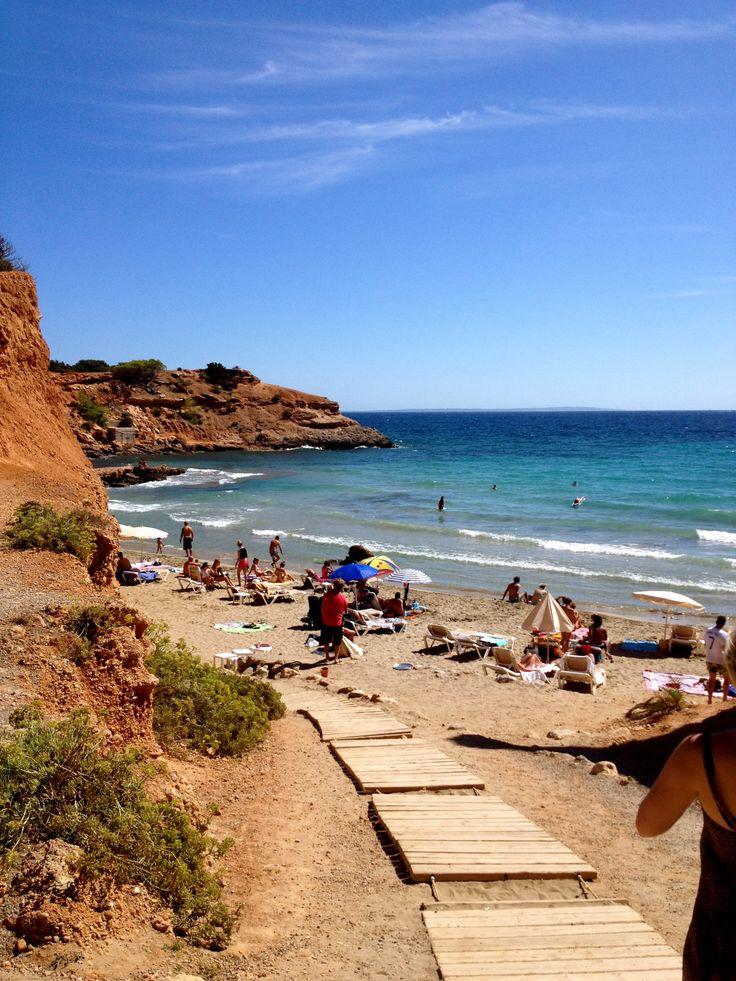 Glorious, historic Sa Caleta beach, #Ibiza.