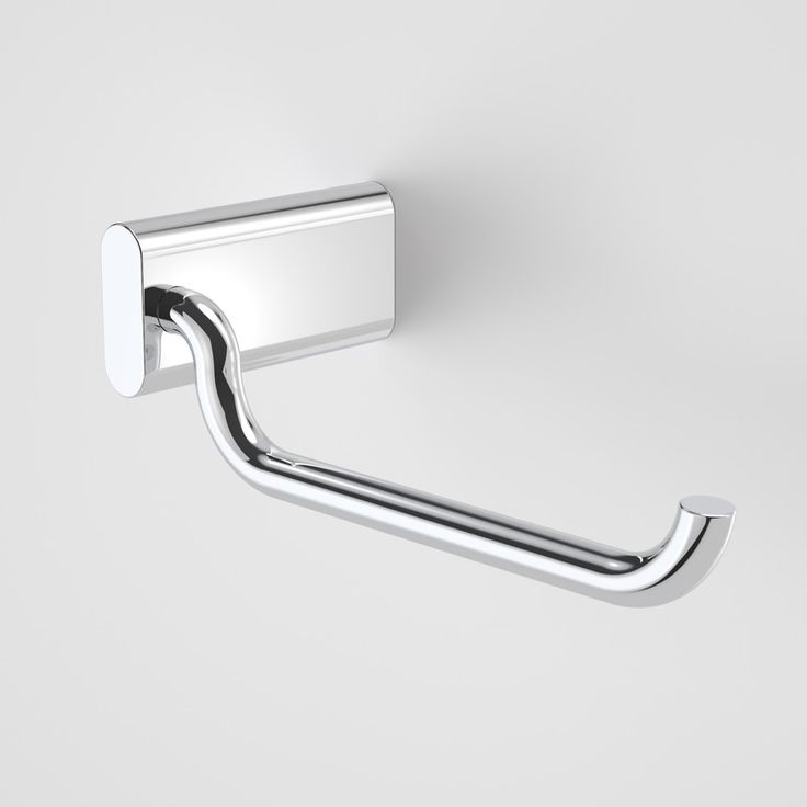 add the finishing touches with the caroma track toilet roll holder featuring bold designer styling and european inspired design
