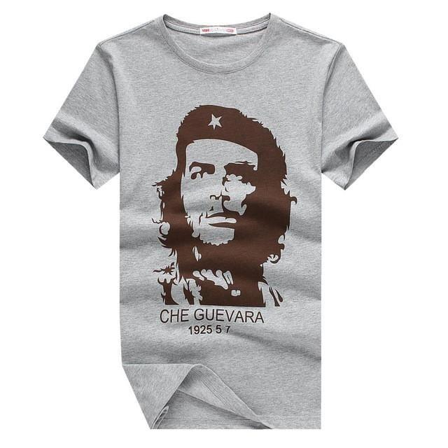 E-BAIHUI CHE GUEVARA summer o neck 3d print shirt men brand clothing cotton mens t shirts fashion 2016 hombre tops tee y033