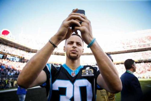 Stephen Curry will pound the drum for Panthers #NBAschedule...: Stephen Curry will pound the drum for Panthers #NBAschedule #CavsVsWarriors…