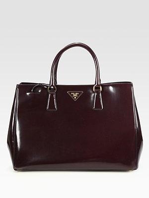 Prada - Spazzolato Tote - Saks.com: Fashion, Clothing Shops, Prada Bag, Handbags Sho, Handbags Myobsess, Totes 1730, Prada Spazzolato, Spazzolato Totes, Hands Bags