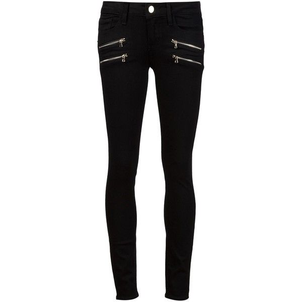 Paige 'Edgemont' skinny jeans (€330) ❤ liked on Polyvore featuring jeans, pants, bottoms, calças, trousers, black, skinny leg jeans, paige denim, paige denim jeans and black skinny leg jeans