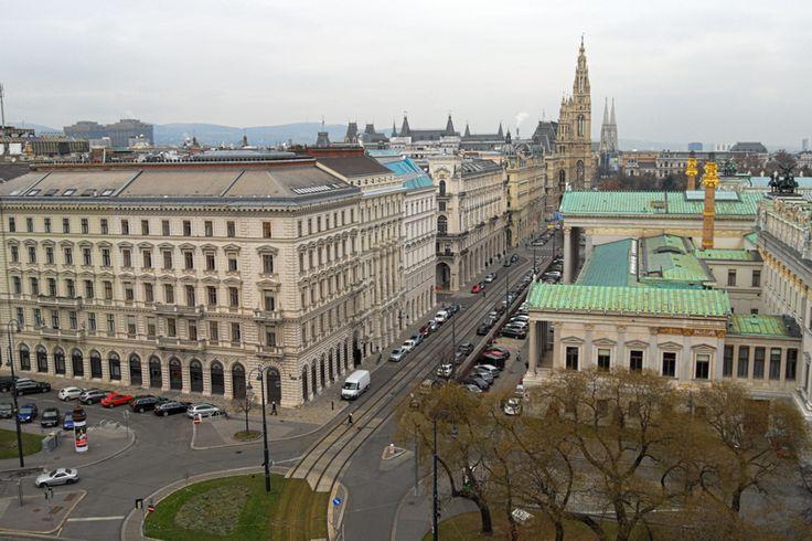 Wiedeń Ratusz Rathaus Wien Reichsratsstrrasse
