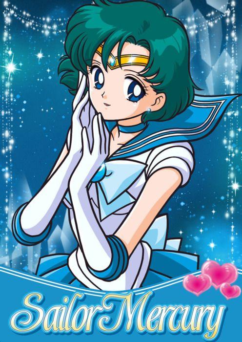 """Sailor Moon"" - Sailor Mercury"