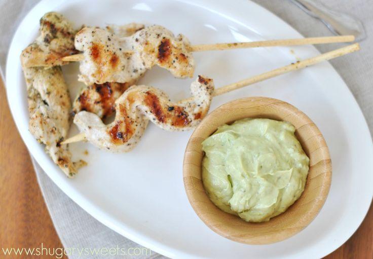 Griekse kippensates met tsazilki