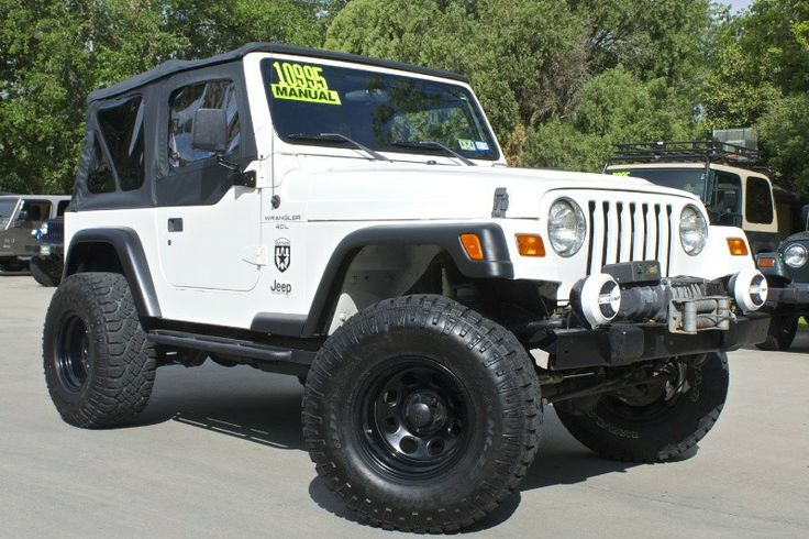 1998 Wrangler Sport Bargain Deal 3 Pro Comp Suspension