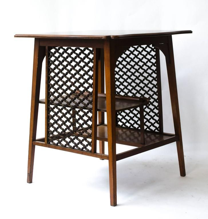 Pair Of Anglo Japanese Side Tables By George Watson