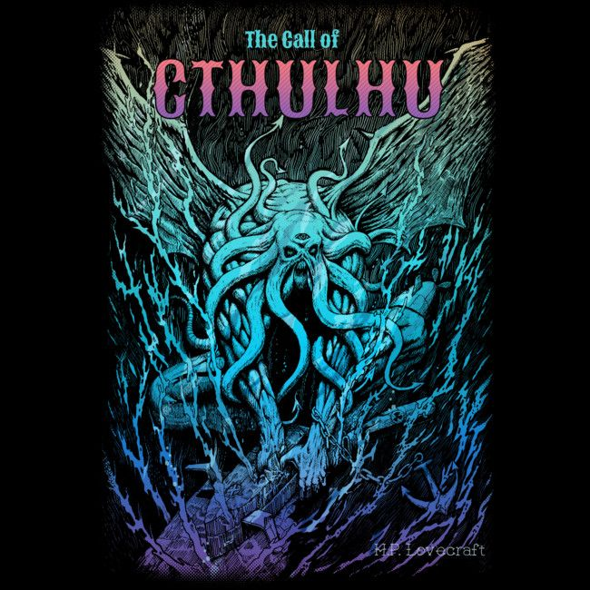 A Beast Nightmare of Cthulhu is a T Shirt designed by Bacht to illustrate your life and is available at Design By Humans
