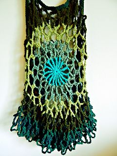 Mandala top crochet pattern