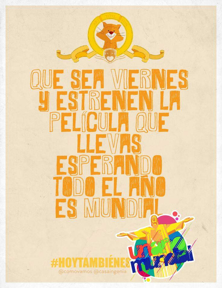 #HoyTambiénEsViernes y hay muchas razones para estar feliz!, ¿cuál es la tuya?
