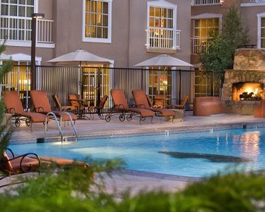 Hilton Santa Fe Historic Plaza Hotel, NM - Outdoor Pool and Whirpool  | NM 87501