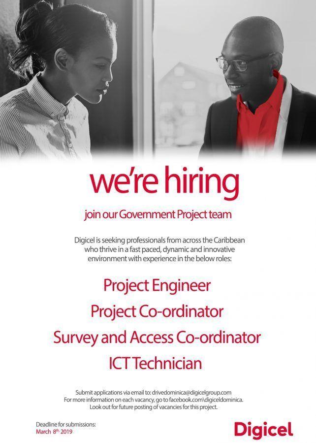 Digicel Dominica Vacancies Job Website Caribbean Jobs Online