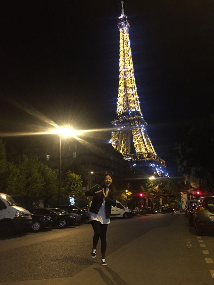 paris first night