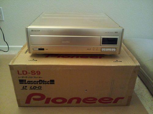 Pioneer LD S9 Japanese Laserdisc Only Player W US Power Transformer US Seller | eBay