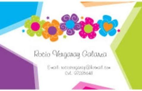tarjetas de presentacion para niñas - Buscar con Google