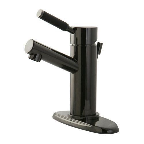 Found it at Wayfair - Water Onyx Single Handle Centerset Bathroom Vessel Faucet with Anti-Slide Handle Sleeve and Brass Pop-Up Drain