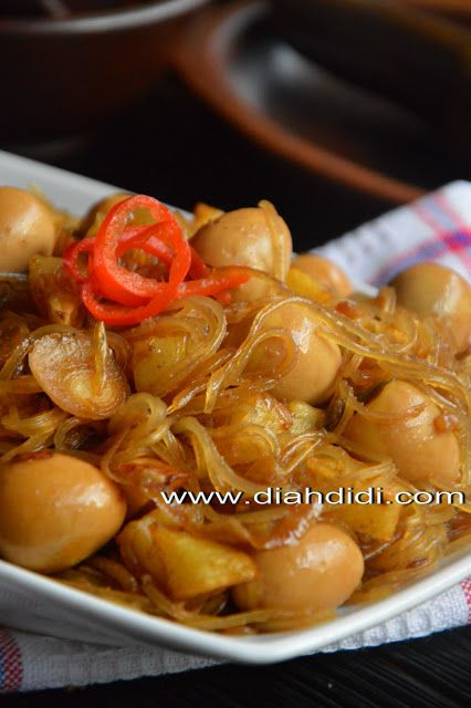 Diah Didi's Kitchen: Inspirasi Menu Buka / Sahur Hari ke 16 ..Semur Soun ( Yogya )