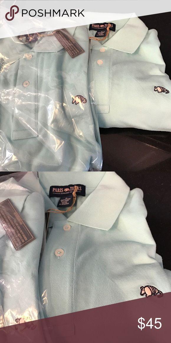 Paris Texas men's shirts Baby blue size medium. Men's shirts. Brand new with tags. paris texas Tops