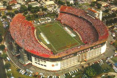 Miami Orange Bowl (University of Miami Hurricanes Football)