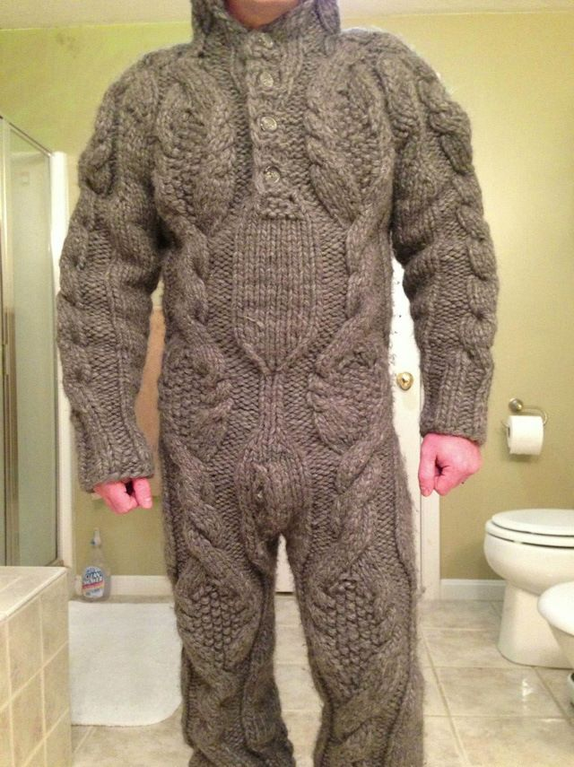 TOO FUNNY!!! Full Body Sweater. Reminds me of Philip Seymour Hoffman's love