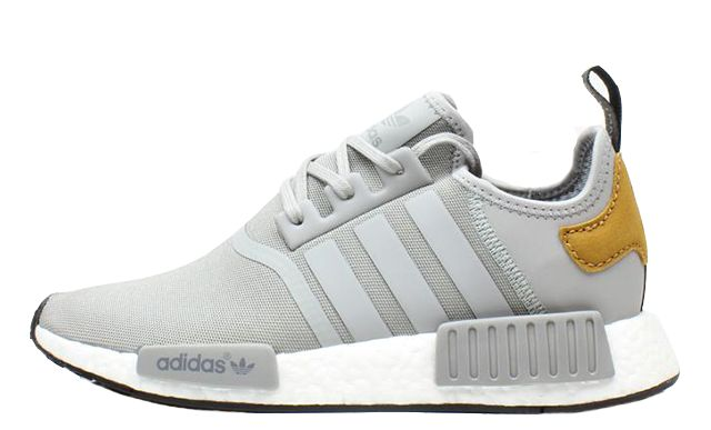 Don't sleep on the adidas NMD R1 Mastercraft Grey Tan. This FootLocker EU special release is expected to fly off shelves. The distinctive colourway is both on-trend and stylish, bringing some seasonal appeal to the winter months. An upper comes crafted...