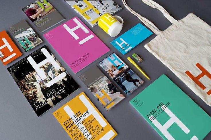 Corporate Design Hochschule Hannover, HsH, Redesign Erscheinungsbild und Corporate Identity, Webdesign, Geschäftspapiere, Logo, Visitenkarten, Briefbogen, Logo Design, Markenberatung, Konzept, Markenkommunikation, Broschüren, Flyer, Prototypen, by anneandrea