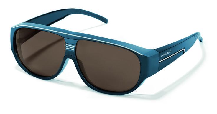 Polaroid suncover blue. Overzet zonnebril, fitover, opzetbril in een handomdraai een zonnebril op sterkte.