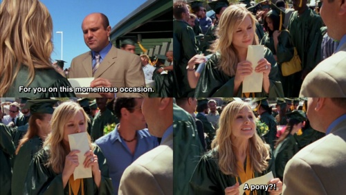 Veronica Mars and this is why I say that when someone asks me to guess what something is.