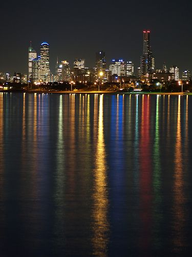 Melbourne City by Night