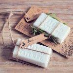 Cadeau original pour vos invités de mariage : les jolis savons. DIY, tutoriel, mariage, wedding, gift